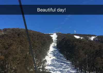 beautiful day pic in snow jarod