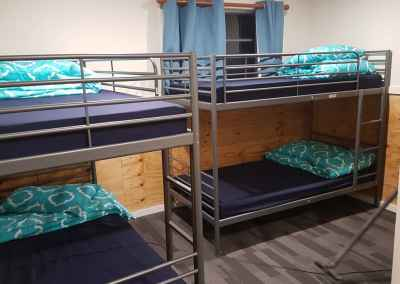 bunks in lodge