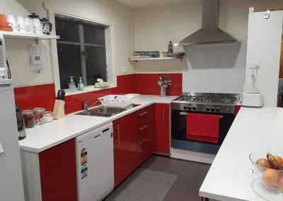 kitchen in lodge